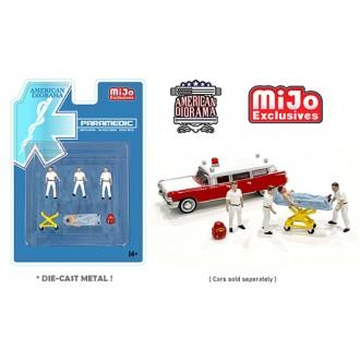 American Diorama 1:64 - Paramedic Figure Set