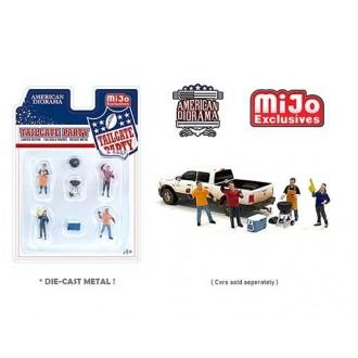 American Diorama 1:64 - Thailgate Party Figure Set