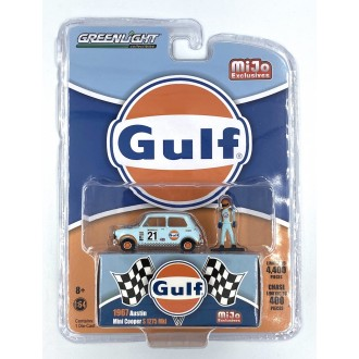 Greenlight 1:64 - 1967 Austin Mini Cooper Gulf