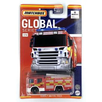 Matchbox 1:64 Best of Global - Scania P360 Fire Truck