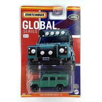 Matchbox 1:64 Best of Global - Land Rover Defender 110