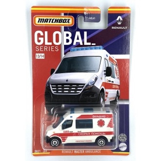 Matchbox 1:64 Best of Global - Renault Master Ambulance Rus