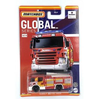 Matchbox 1:64 Best of Global - Scania P 360 Fire Truck 125
