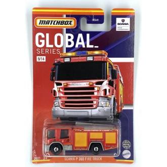 Matchbox 1:64 Best of Global - Scania P 360 Fire Truck