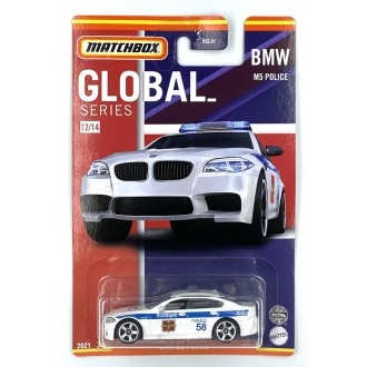 Matchbox 1:64 Best of Global - BMW M5 Police Rus