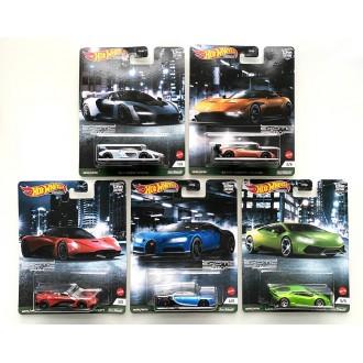 Hot Wheels 1:64 Car Culture - Exotic Envy - Set 5 Szt.