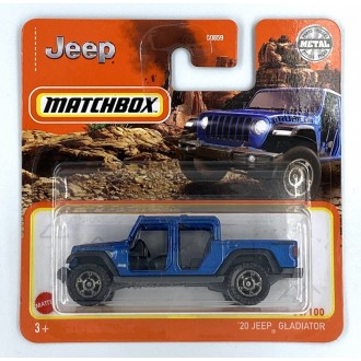 Matchbox 1:64 '20 Jeep Gladiator Blue