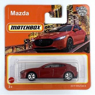 Matchbox 1:64 2019 Mazda 3