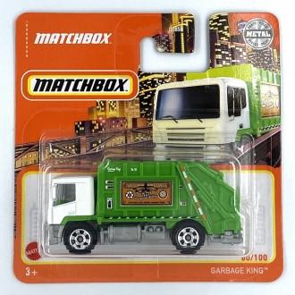 Matchbox 1:64 Garbage King Green