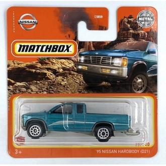 Matchbox 1:64 '95 Nissan Hardbody (D21) Blue