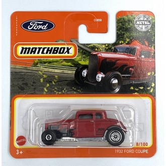 Matchbox 1:64 1932 Ford Coupe Red
